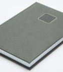 120A Rokovnik B5 DNEVNI DATUMI sivi